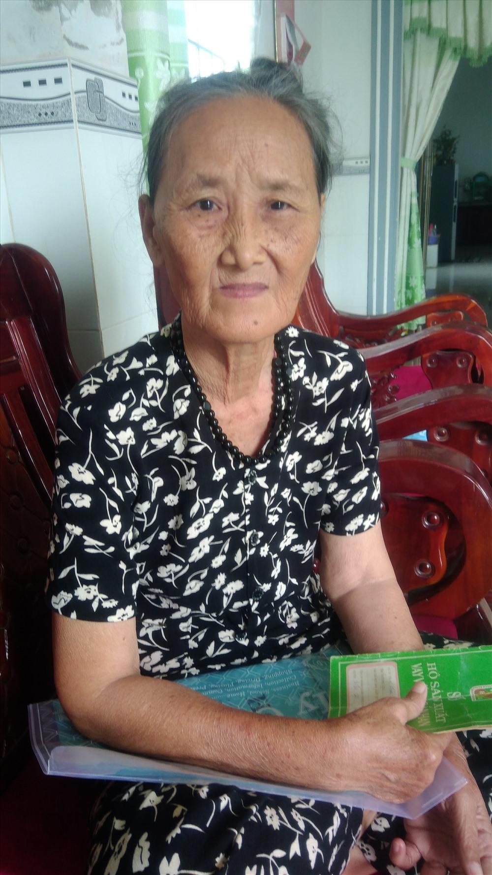 """Bà Lê Thị Đông bức xúc gì đất có """"sổ đỏ"""" 12 năm tự nhiên bị thu hồi."""