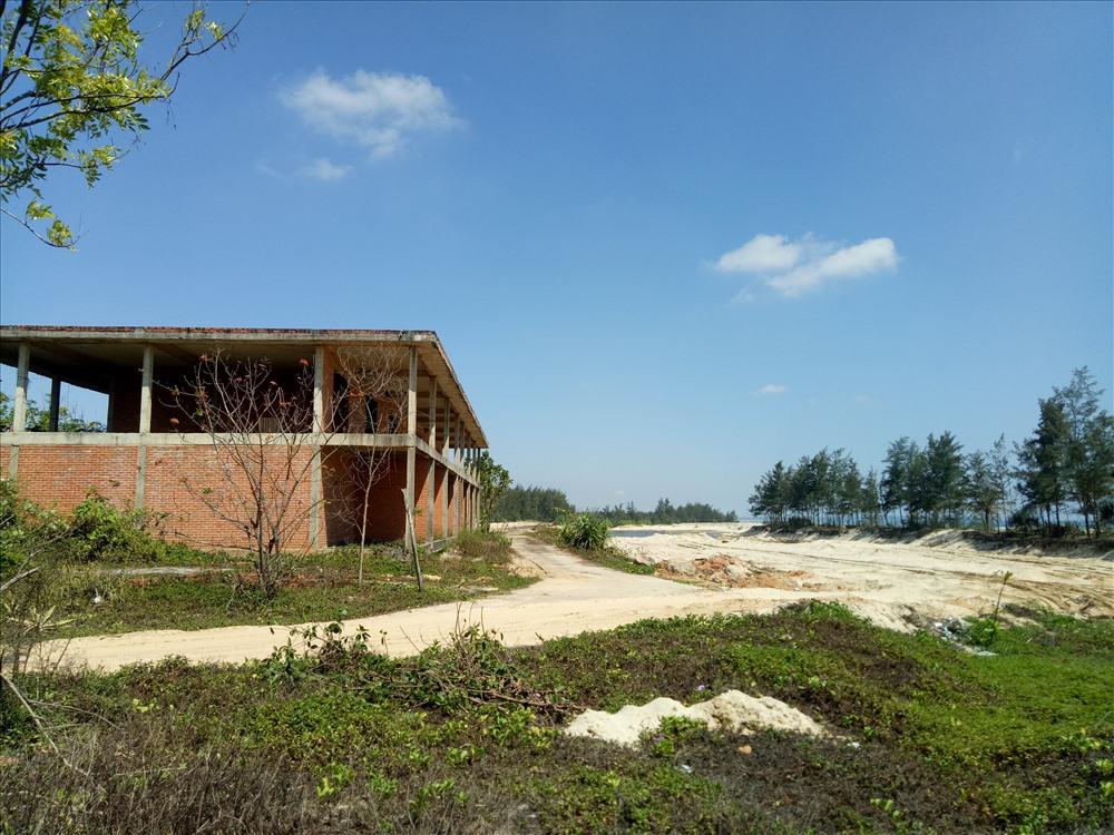 Gia đoạn 2 của dự án khu du lịch sinh thái Thiên Đàng. Ảnh: N.O