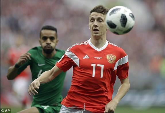 [LIVE] Nga - Saudi Arabia 4-0: Denis Cheryshe lập cú đúp - ảnh 8