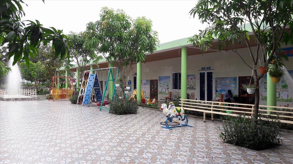 Cơ sở Mầm non Tuổi Thơ. Ảnh: PV