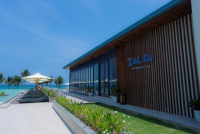 Salsa The Beach Club của FLC Quy Nhơn hứa hẹn sẽ là nơi giải trí sôi động cho các hoa hậu tương lai