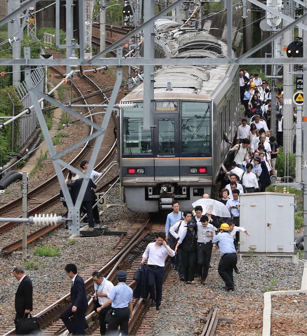 Tàu hỏa siêu tốc Shinkansen cùng các dịch xe lửa khác trên địa bàn đều phải đình chỉ hoạt động. 3 sân bay ở khu vực cũng buộc phải tạm dừng hoạt động.