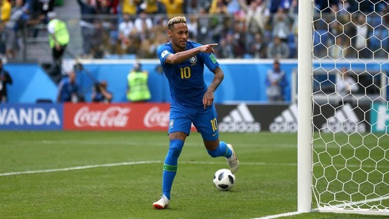 Sau trận hòa thất vọng Thụy Sỹ 1-1, Brazil đã thắng và Neymar ghi bàn