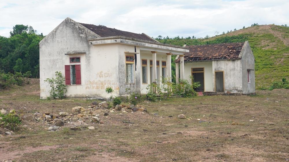 Căn nhà của Cty cao su Hà Tĩnh bỏ hoang. Ảnh: PV