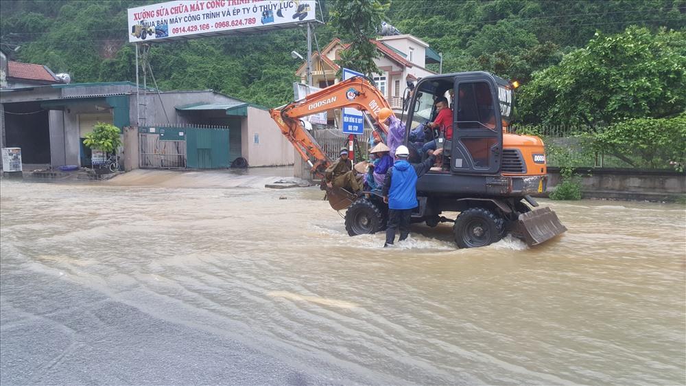 Một số hình ảnh khác về tình trạng ngập lụt