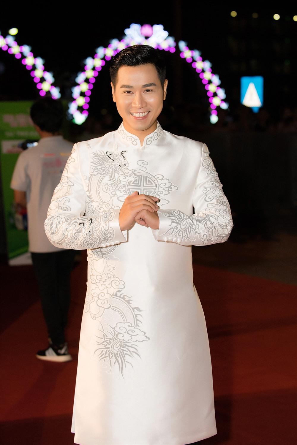 MC Nguyên Khang chia sẻ nhiều điều thú vị xoay quanh bên lề cuộc thị chung khảo phía Bắc cuộc thi Hoa hậu Việt Nam. Ảnh: BTC.