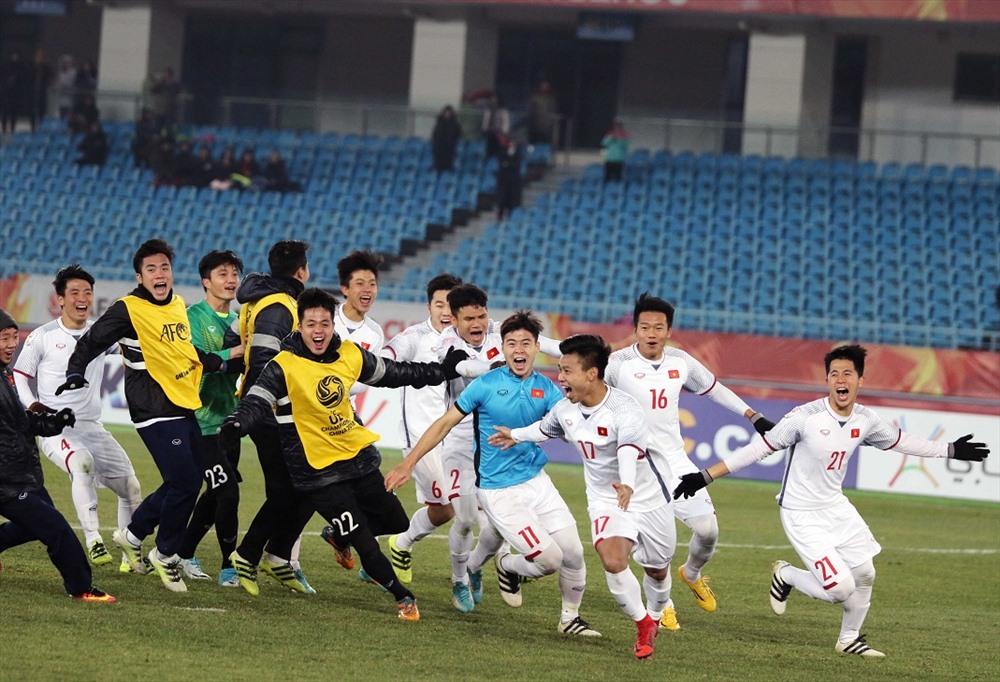 U23 Việt Nam cũng từng khiến cả Châu Á phải nghiêng mình kính nể khi liên tiếp tạo địa chấn tại VCK U23 Châu Á và giành ngôi Á quân. Ảnh: Hữu Phạm