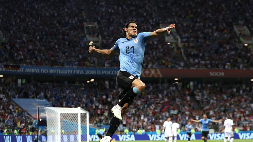 Cavani đang là cây săn bàn số 1 của ĐT Uruguay.