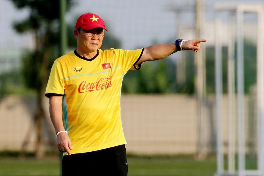 Mục tiêu của chiến lược gia người Hàn là muốn U23 Việt Nam giành ngôi nhất bảng D tại ASIAD 18. Ảnh: T.L
