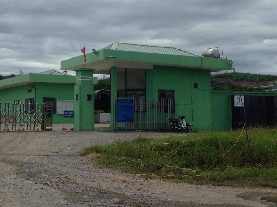 Các hoạt động trước cổng Nhà máy xử lý rác thải Phú Hà đã trở lại  bình thường sau 2 ngày bị chặn