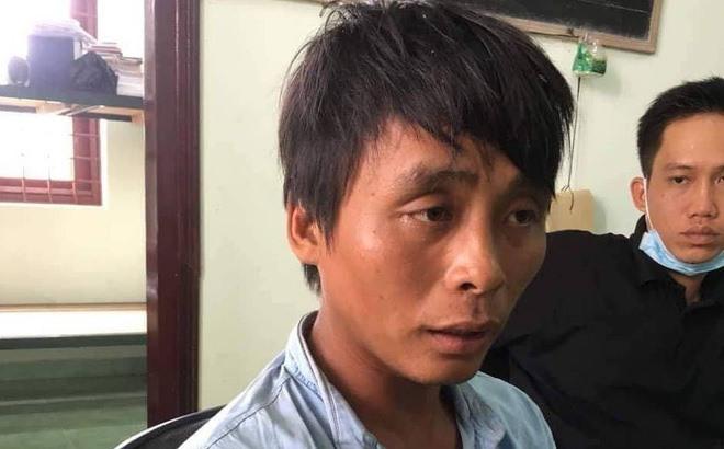 Đăng Khoa sau khi bị bắt.
