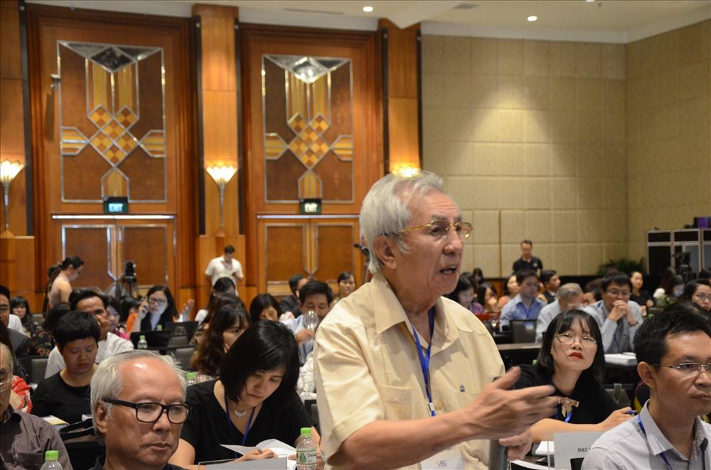 GS.TS Phạm Huy Dũng – Phó Chủ tịch Hội đồng Quản trị Đại học Thăng Long. Ảnh: Huyên Nguyễn