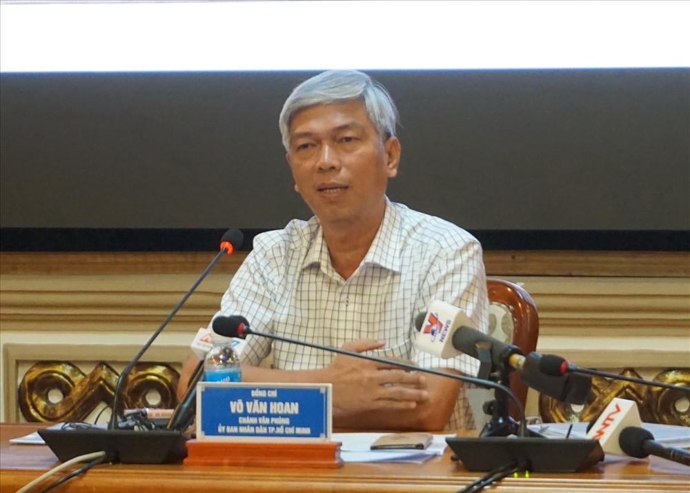 Chánh Văn phòng UBND TPHCM Võ Văn Hoan.