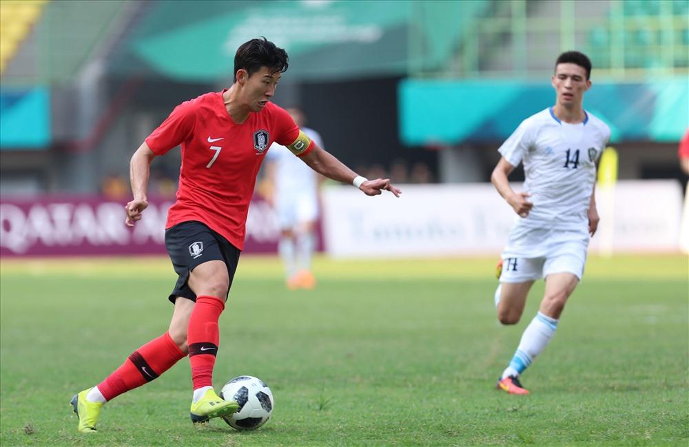 Ngôi sao sáng giá Son Heung-min chính là cái tên gây chú ý nhất trong đội hình U23 Hàn Quốc. Ảnh: Đ.Đ
