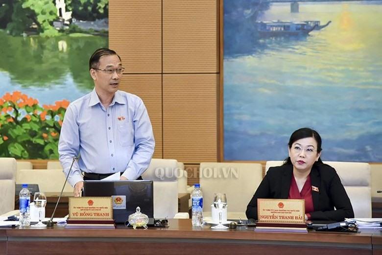 Chủ nhiệm Ủy ban Kinh tế Vũ Hồng Thanh. Ảnh Q.H