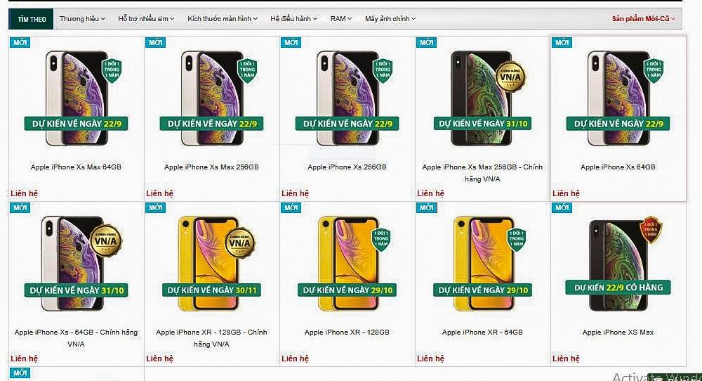 Một số nhà phân phối bán lẻ khác cũng bắt đầu nhận đặt hàng. Tuy nhiên, giá bán chi tiết thế nào vẫn chưa được tiết lộ.
