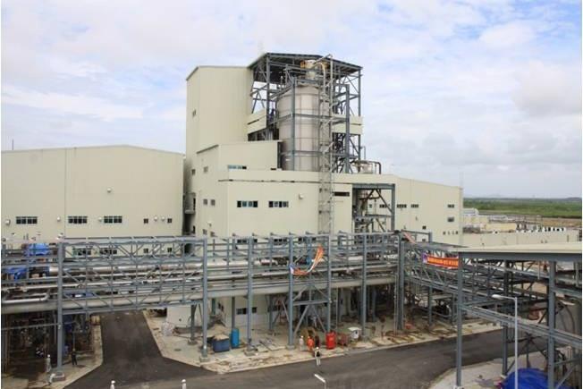 Dự án Nhà máy sản xuất xơ sợi polyester Đình Vũ vận hành trở lại 3 dây chuyền của phân xưởng sợi. Ảnh: T.C.A