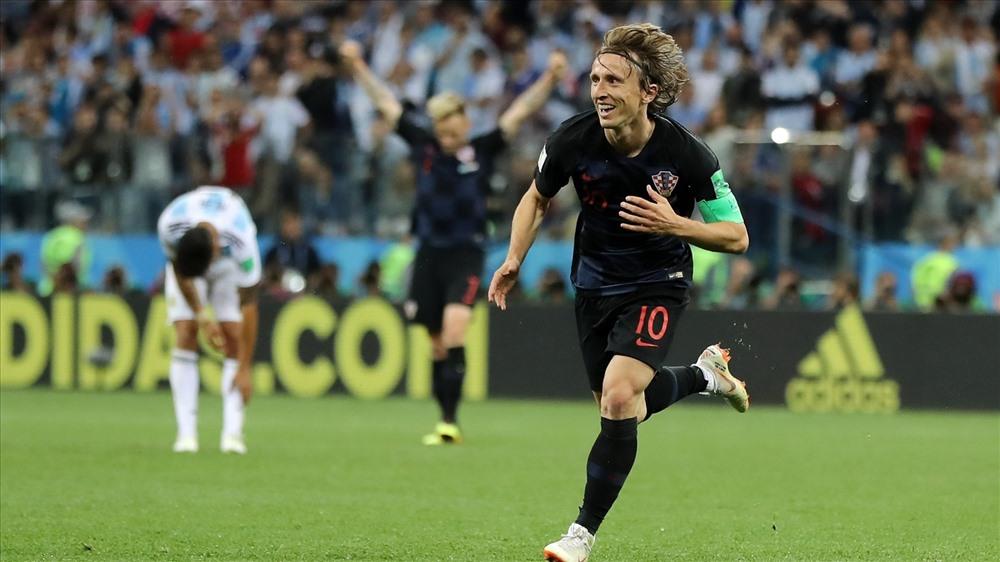 Modric có kì World Cup không thể nào quên. Ảnh: FIFA.