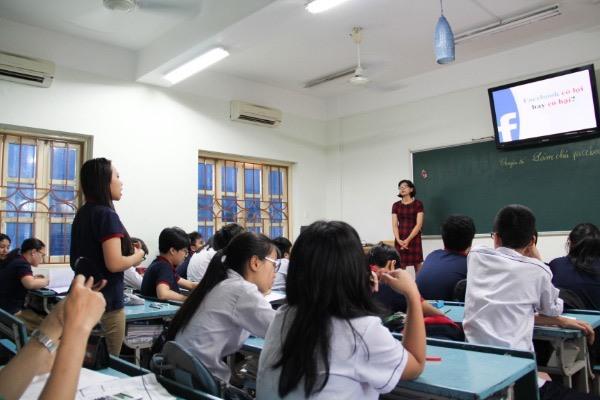Chất lượng từng tiết học là vấn đề được nhà trường đặc biệt quan tâm. Ảnh: Đức Minh