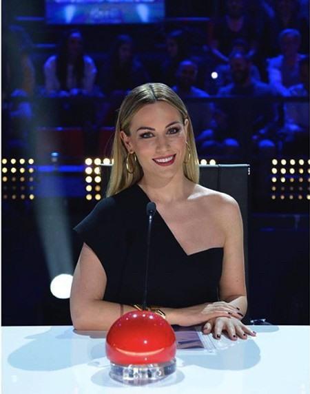 Edurne Garcia là một ngôi sao lớn hoạt động trong làng giải trí Tây Ban Nha.