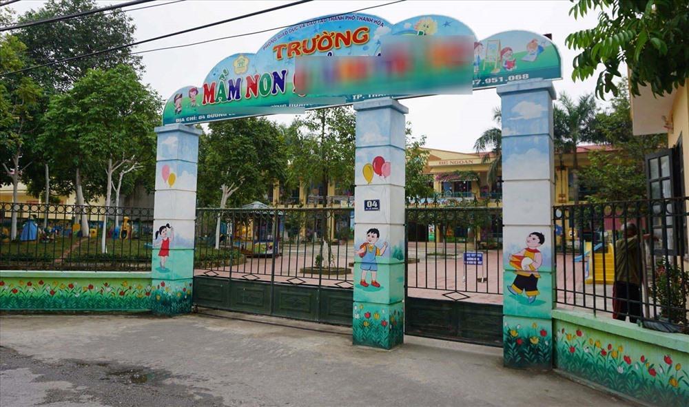 Trường mầm non Q.T, TP. Thanh Hóa.