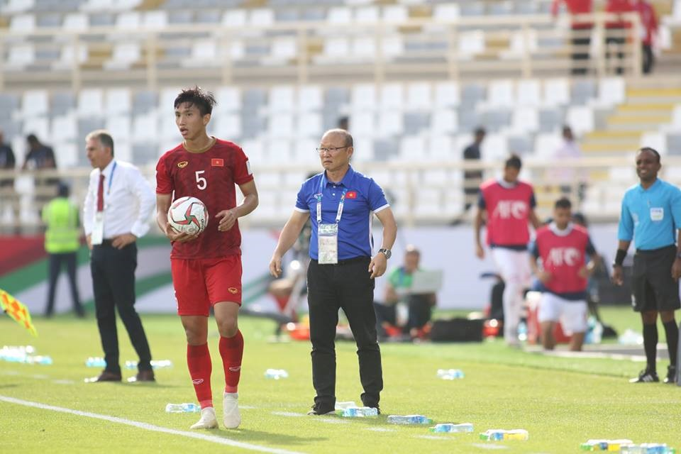 Thầy Park muốn giành chiến thắng ở trận cuối vòng bảng gặp Yemen. Ảnh Hữu Phạm