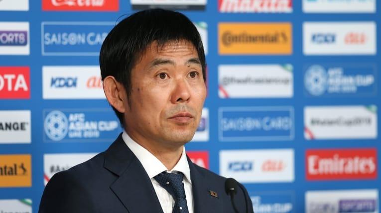 HLV Hajeme Moriyasu là người dẫn dắt U23 Nhật Bản trong trận thua U23 Việt Nam tại ASIAD 2018. Ảnh: AFC