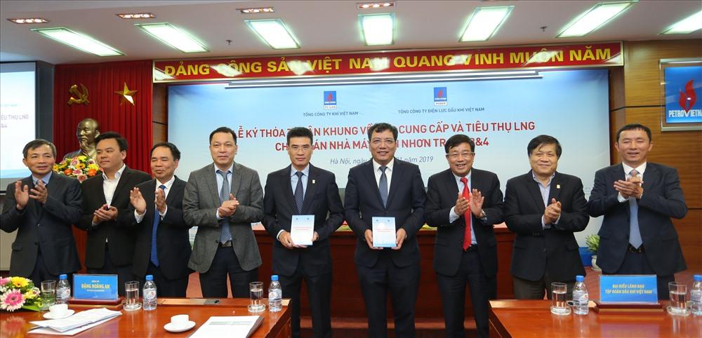 Lễ ký có đại diện các đối tác của PV GAS, PV Power.