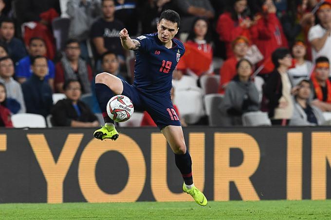 Đt Thái Lan của Tristan Do đã phải về nước sau vòng 1/8 Asian Cup 2019 (Ảnh: Getty)