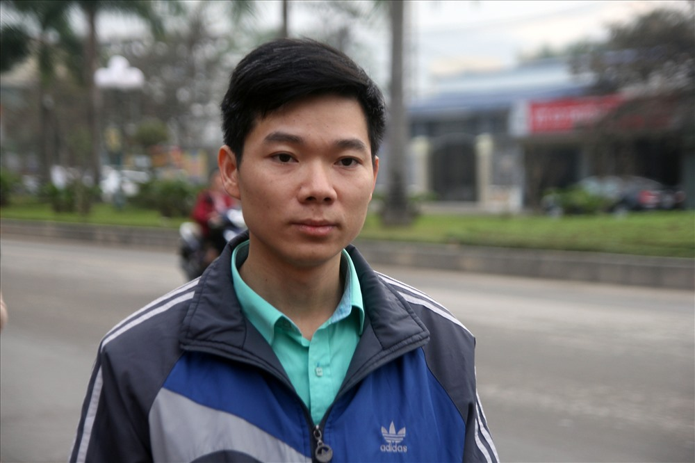 Accused Hoang Cong Luong.