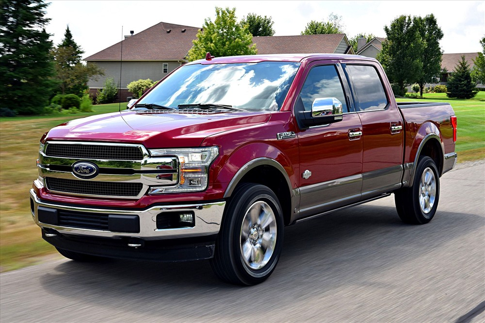 1. Ford F-Series: 909.330 xe