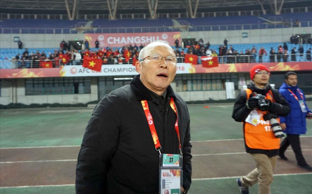 HLV Park Hang-seo xác định kết quả trận đấu với Iraq sẽ quyết định tấm vé đi tiếp của ĐT Việt Nam. Ảnh: Đ.Đ