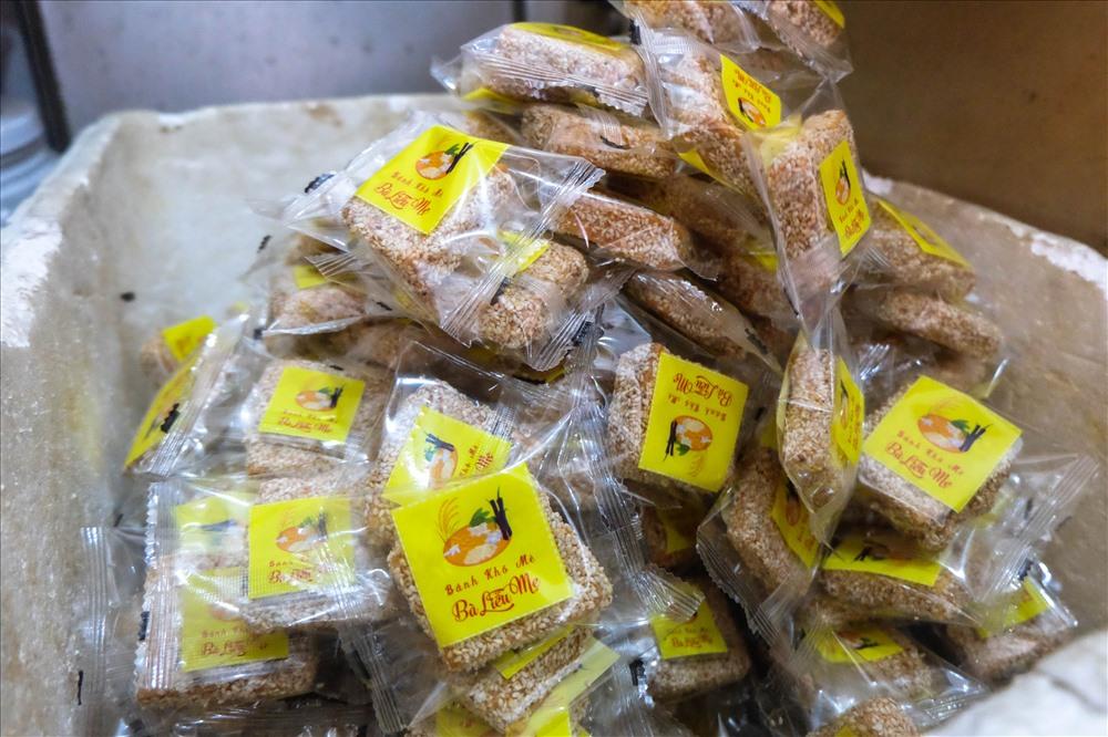 Đặc sản bánh khô mè Cẩm Lệ, TP Đà Nẵng đã được tổ chức Kỷ lục Việt Nam công nhận vào top 10 đặc sản bánh quà tặng nổi tiếng Việt Nam theo bộ tiêu chí công bố giá trị đặc sản Việt Nam.