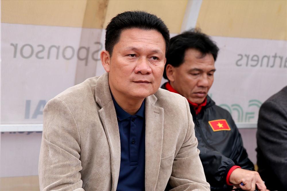 Thầy trò HLV Nguyễn Quốc Tuấn hướng đến mục tiêu vào đến trận chung kết giải U22 Đông Nam Á 2019. Ảnh: T.L
