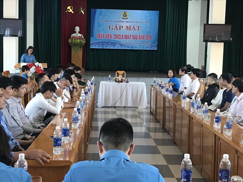 Có 67 Đoàn viên, CNVCLĐ thuộc LĐLĐ Đà Nẵng trúng tuyển nghĩa vụ quân sự năm 2019. Ảnh: H.V.M
