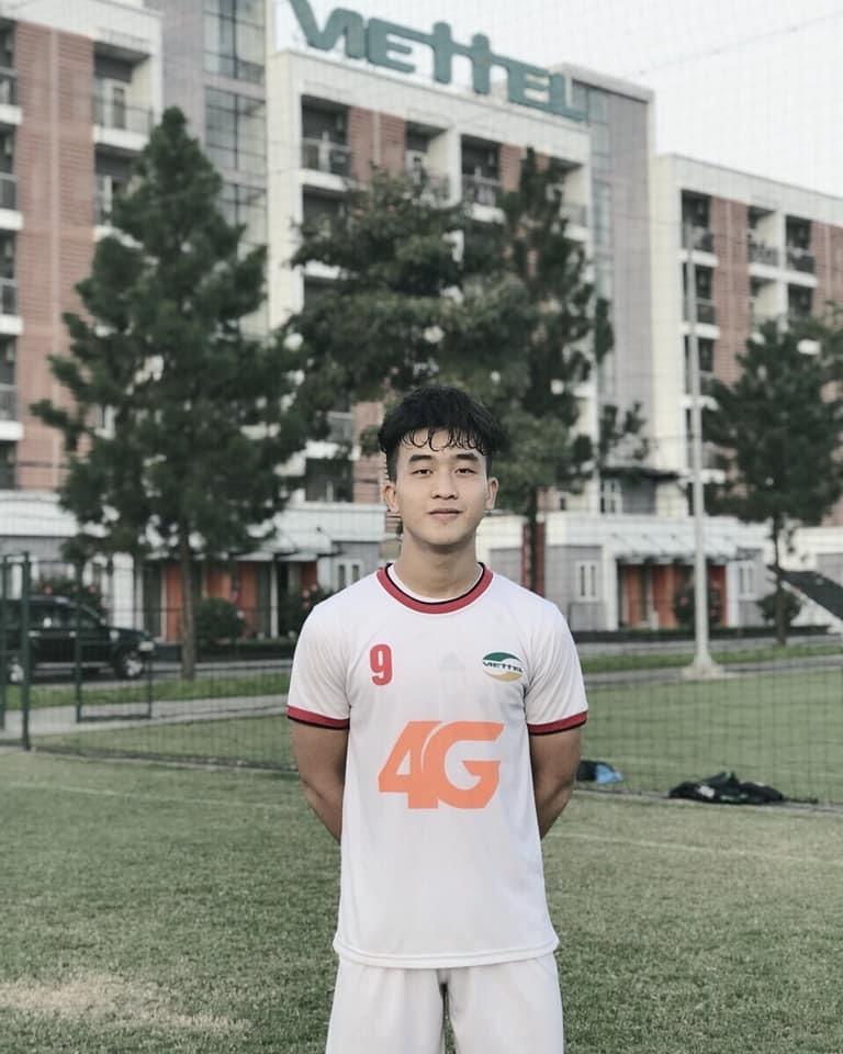 """Tại giải vô địch U19 Quốc gia năm 2017, Trần Danh Trung từng đạt danh hiệu Vua phá lưới. Khả năng săn bàn của cầu thủ Viettel được ví với """"sát thủ vòng cấm"""" Fillipo Inzaghi."""
