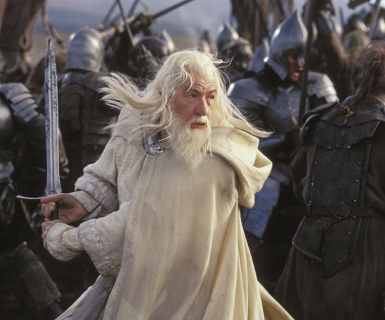 "Cảnh trong phim ""The Lord of the Rings: The Return of the King""."