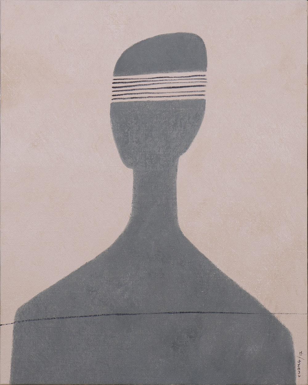 Tác phẩm trong triển lãm Bóng và Hình.