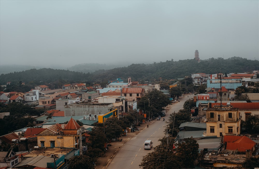 Thị trấn Khe Sanh bây giờ. Ảnh: Bôn Nguyễn.