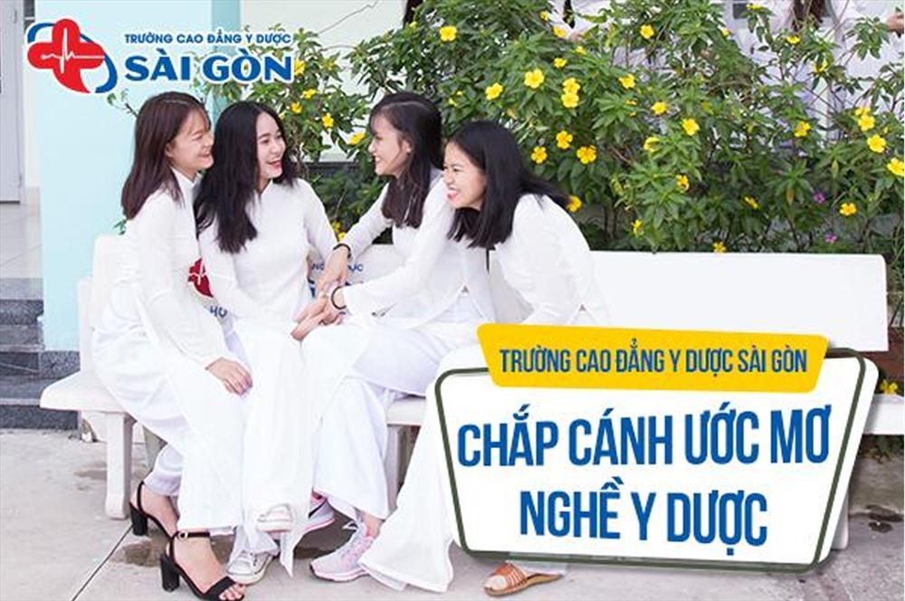 Cao đẳng Y Dược Sài Gòn tự hào là cái nôi ươm mầm giấc mơ Y Dược tương lai.