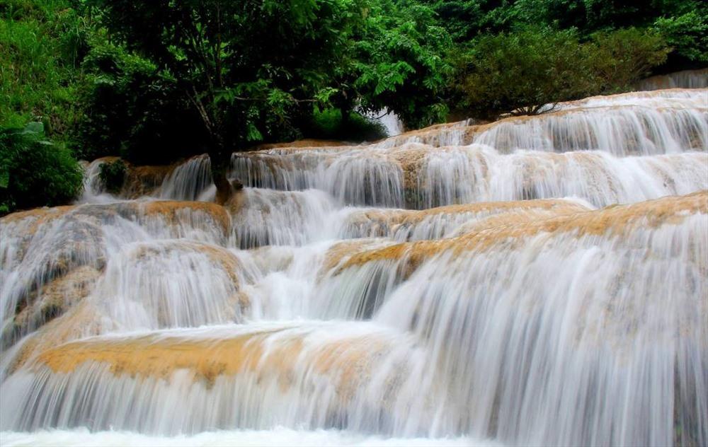 Vẻ đẹp của Thác Mây (huyện Thạch Thành, tỉnh Thanh Hóa)