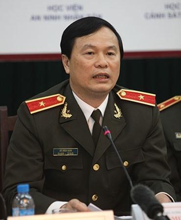 Ông Bùi Minh Giám - Cục trưởng Cục Đào tạo, Bộ Công an.