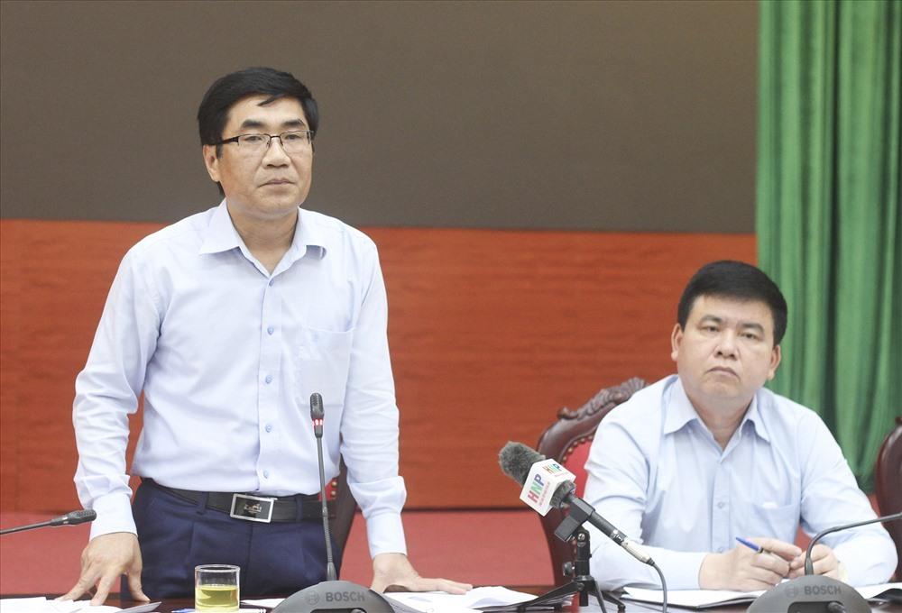 Phó Chủ tịch UBND huyện Mê Linh - Bùi Xuân Quang. Ảnh: Trần Vương