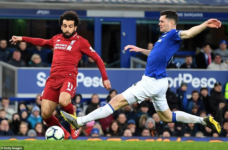 Mohamed Salah dù dứt điểm nhiều nhưng lại kém duyên với bàn thắng thời gian gần đây. Ảnh: Getty Images.