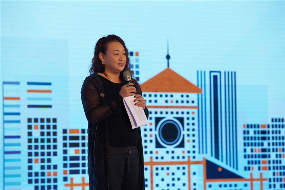 Bà Pamela Phua - Tổng giám đốc AkzoNobel Việt Nam.