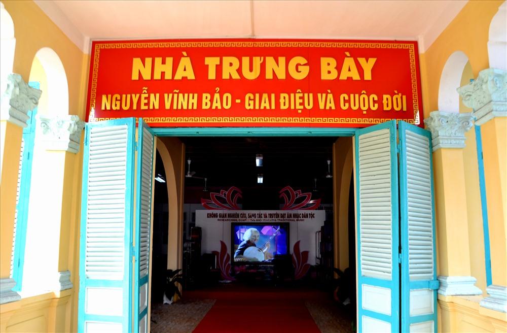 Nhà trưng bày Nguyễn Vĩnh Bảo - Giai điệu cuộc đời vốn là Nhà thầy thuốc Lư. Ảnh: Lục Tùng