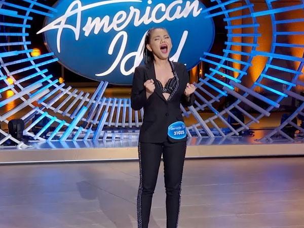 Minh Như thể hiện giọng hát nội lực tại American Idol. Ảnh: American Idol.