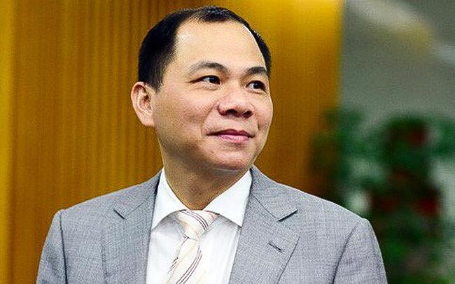 Ông Phạm Nhật Vượng vẫn đang là người giàu nhất Việt Nam.