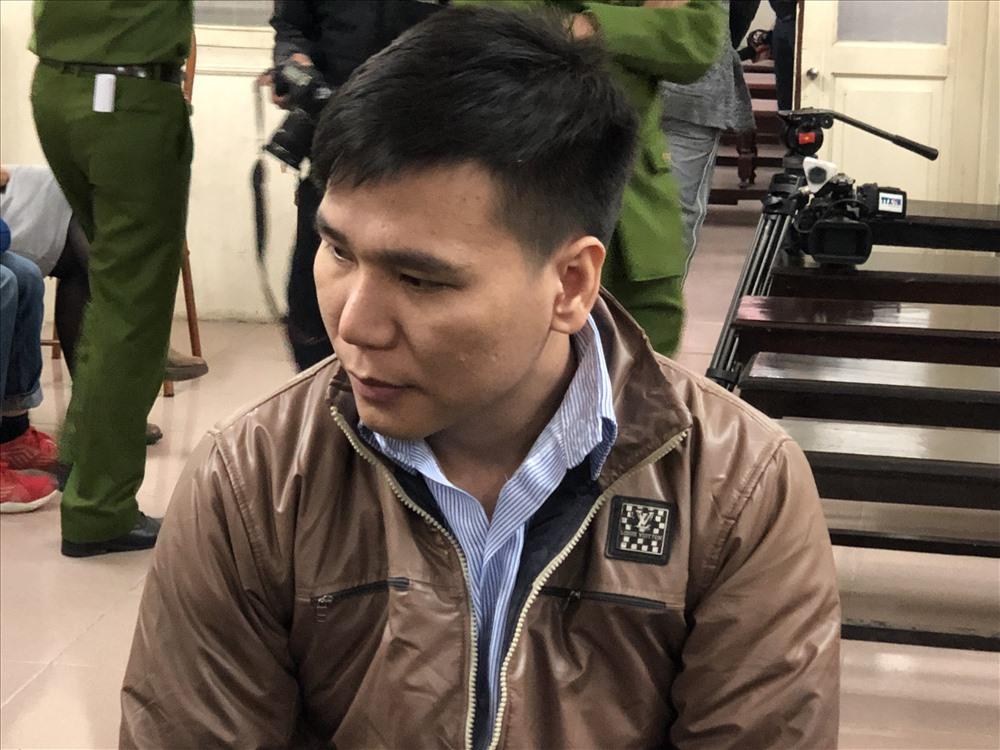 Bị cáo Châu Việt Cường tại tòa.