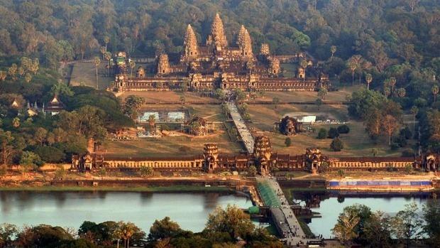 Khu di tích Angkorwat.